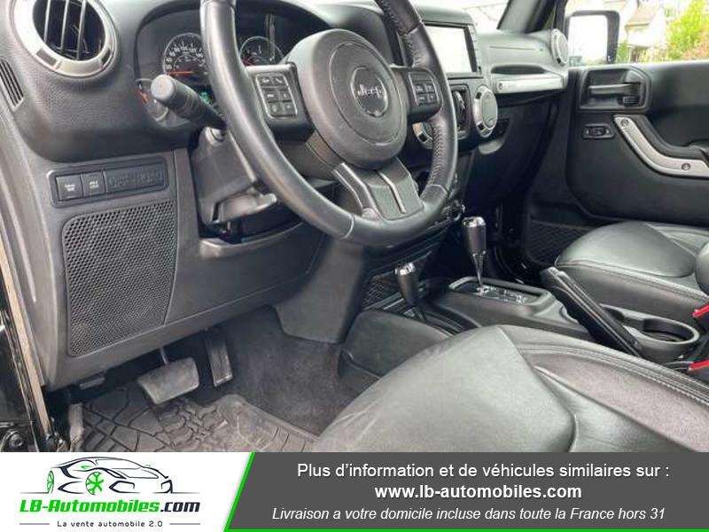 Jeep Wrangler 2.8 CRD Noir occasion à Beaupuy - photo n°7