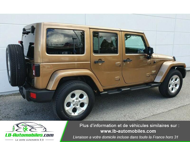 Jeep Wrangler 2.8 CRD Marron occasion à Beaupuy - photo n°7