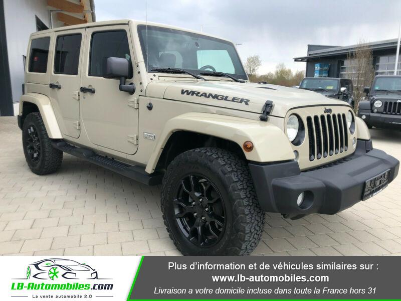 Jeep Wrangler 3.6L V6 Gris occasion à Beaupuy