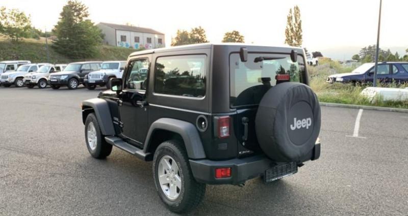 Jeep Wrangler JK 2.8 L CRD 200 CV Sport Boite mécanique Noir occasion à MONISTROL SUR LOIRE - photo n°5
