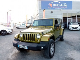 Jeep Wrangler Wrangler 2.8 CRD 177 Unlimited 5p 177ch  occasion à Biganos - photo n°1