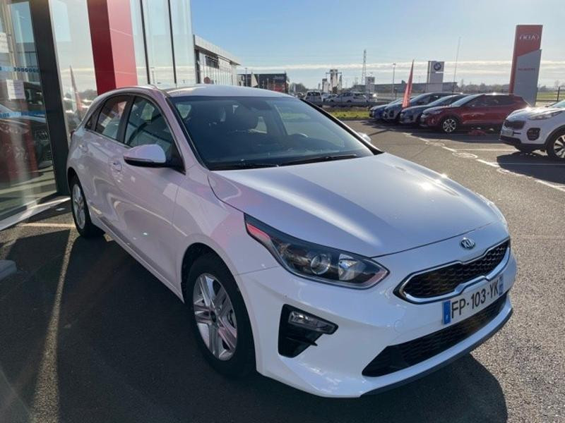 Kia Cee'd 1.0 T-GDI 120ch Active 118g Blanc occasion à Amilly