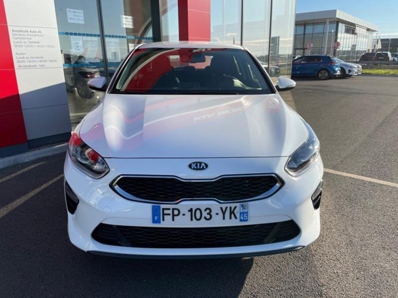 Kia Cee'd 1.0 T-GDI 120ch Active 118g Blanc occasion à Amilly - photo n°2