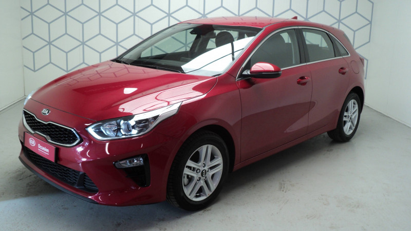 Kia Cee'd CEED 1.4 T-GDI 140 ch ISG DCT7 Active 5p Rouge occasion à Cahors - photo n°3