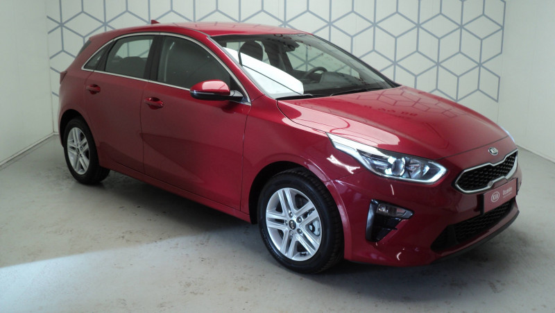 Kia Cee'd CEED 1.4 T-GDI 140 ch ISG DCT7 Active 5p Rouge occasion à Cahors