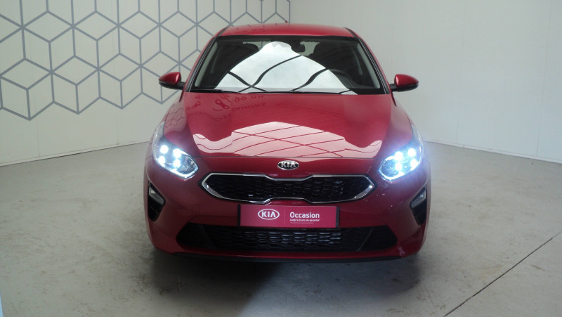 Kia Cee'd CEED 1.4 T-GDI 140 ch ISG DCT7 Active 5p Rouge occasion à Cahors - photo n°2