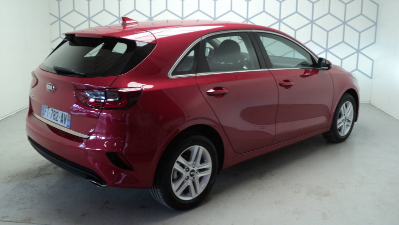 Kia Cee'd CEED 1.4 T-GDI 140 ch ISG DCT7 Active 5p Rouge occasion à Cahors - photo n°4