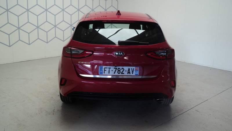 Kia Cee'd CEED 1.4 T-GDI 140 ch ISG DCT7 Active 5p Rouge occasion à Cahors - photo n°5