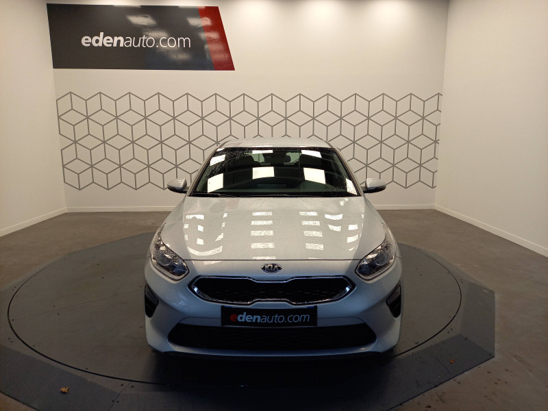 Kia Cee'd CEED 1.6 CRDi 115 ch ISG DCT7 Active 5p Gris occasion à TARBES - photo n°4
