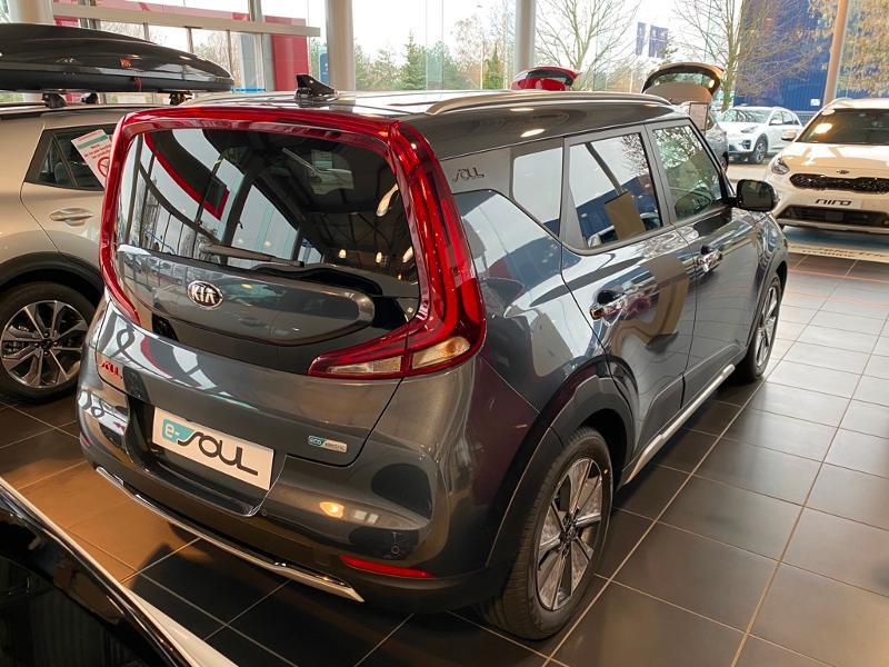 Kia e-Soul e-Premium 204ch Gris occasion à Barberey-Saint-Sulpice - photo n°5