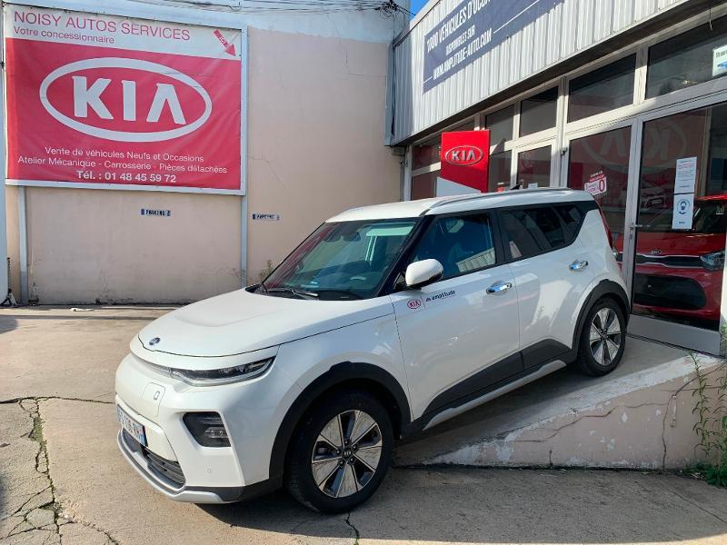 Kia e-Soul e-Premium 204ch Blanc occasion à Noisy-le-Sec