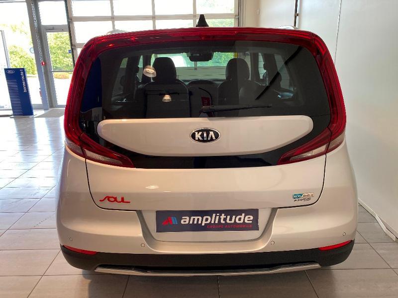 Kia e-Soul e-Premium 204ch Gris occasion à Chaumont - photo n°5