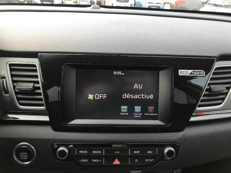 Kia Niro 1.6 GDi 105ch ISG + électrique 43.5ch Design DCT6 Euro6d-T Gris occasion à Amilly - photo n°13