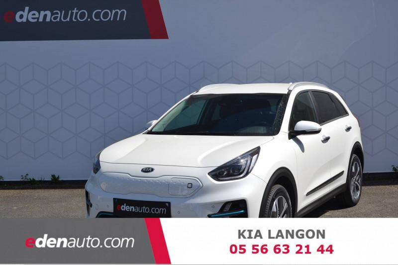 Kia Niro e-Niro Electrique 204 ch Design 5p Blanc occasion à Toulenne