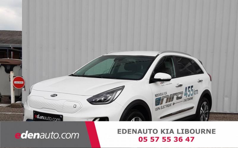 Kia Niro e-Niro Electrique 204 ch Design 5p Blanc occasion à Libourne