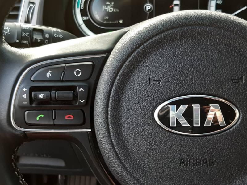 Kia Niro Hybrid 1.6 GDi 105 ch + Electrique 43.5 DCT6 Active Gris occasion à Villenave-d'Ornon - photo n°19