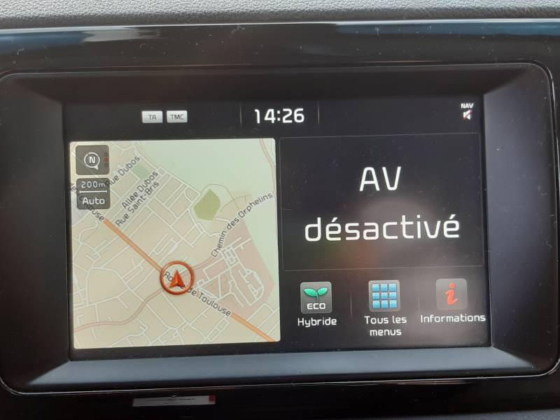 Kia Niro Hybrid 1.6 GDi 105 ch + Electrique 43.5 DCT6 Active Gris occasion à Villenave-d'Ornon - photo n°4