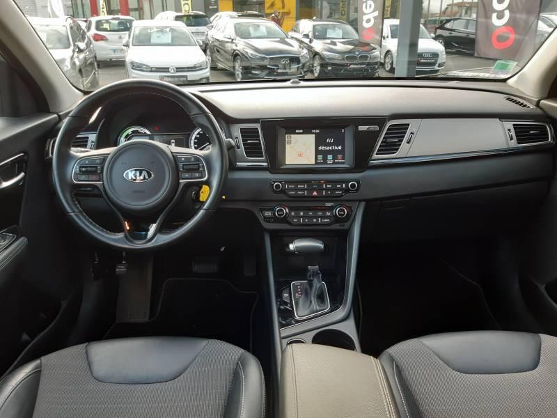 Kia Niro Hybrid 1.6 GDi 105 ch + Electrique 43.5 DCT6 Active Gris occasion à Villenave-d'Ornon - photo n°3