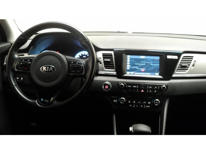 Kia Niro Hybrid 1.6 GDi 105 ch + Electrique 43.5 DCT6 Active Gris occasion à Cahors - photo n°10