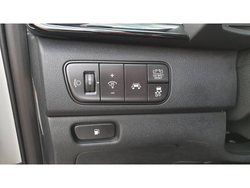Kia Niro Hybrid 1.6 GDi 105 ch + Electrique 43.5 DCT6 Design Blanc occasion à Saint-Laurent-des-Vignes - photo n°13