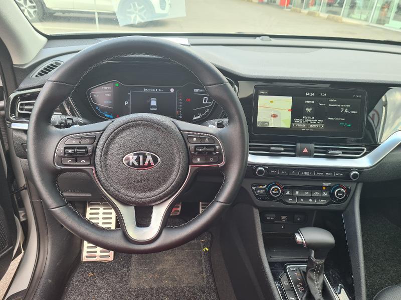 Kia Niro Hybrid 1.6 GDi 105ch+Electrique 43.5ch DCT6 PREMIUM COOL Gris occasion à Vert-Saint-Denis - photo n°14