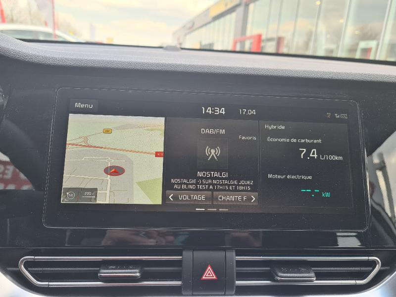 Kia Niro Hybrid 1.6 GDi 105ch+Electrique 43.5ch DCT6 PREMIUM COOL Gris occasion à Vert-Saint-Denis - photo n°8