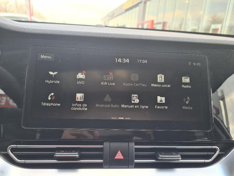 Kia Niro Hybrid 1.6 GDi 105ch+Electrique 43.5ch DCT6 PREMIUM COOL Gris occasion à Vert-Saint-Denis - photo n°10