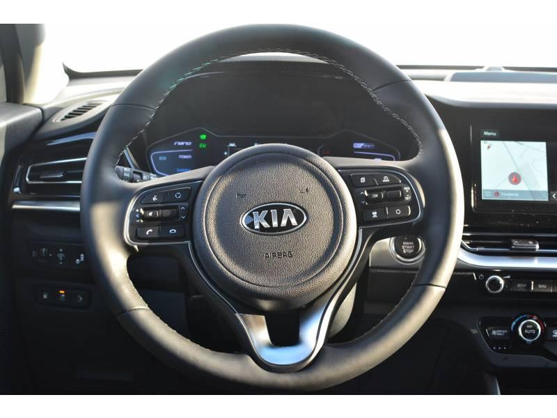 Kia Niro Hybrid Recharg 1.6 GDi 105 ch ISG + Elec 60.5 DCT6 Premium Gris occasion à Toulenne - photo n°8
