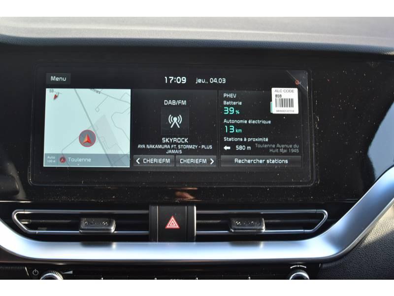 Kia Niro Hybrid Recharg 1.6 GDi 105 ch ISG + Elec 60.5 DCT6 Premium Gris occasion à Toulenne - photo n°15