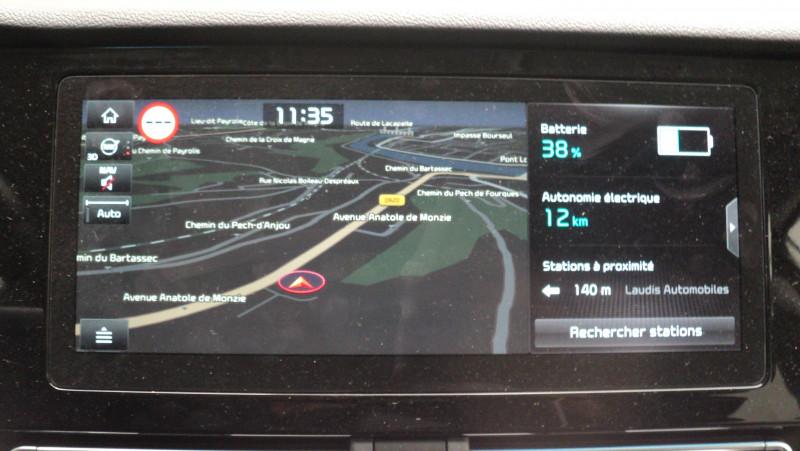 Kia Niro Niro Hybrid Recharg 1.6 GDi 105 ch ISG + Elec 60.5 ch DCT6 P Blanc occasion à Cahors - photo n°12