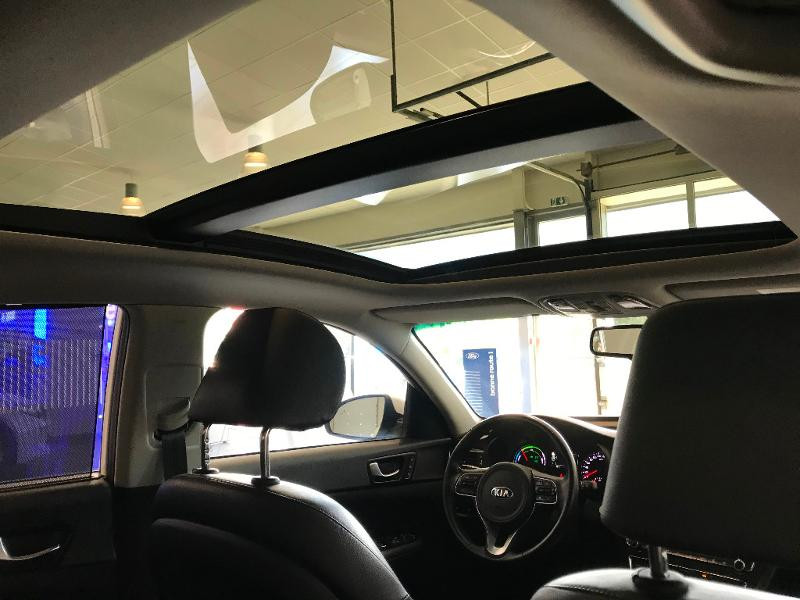 Kia Optima 2.0 GDI 205ch Hybride Rechargeable BVA6 Blanc occasion à Chaumont - photo n°12