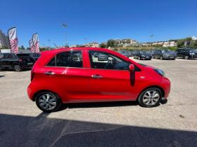 Kia Picanto 1.0 66ch Active 5p - 57 000 Kms Rouge occasion à Marseille 10 - photo n°5