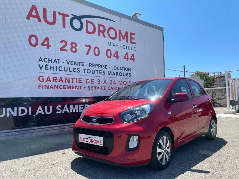 Kia Picanto 1.0 66ch Active 5p - 57 000 Kms Rouge occasion à Marseille 10