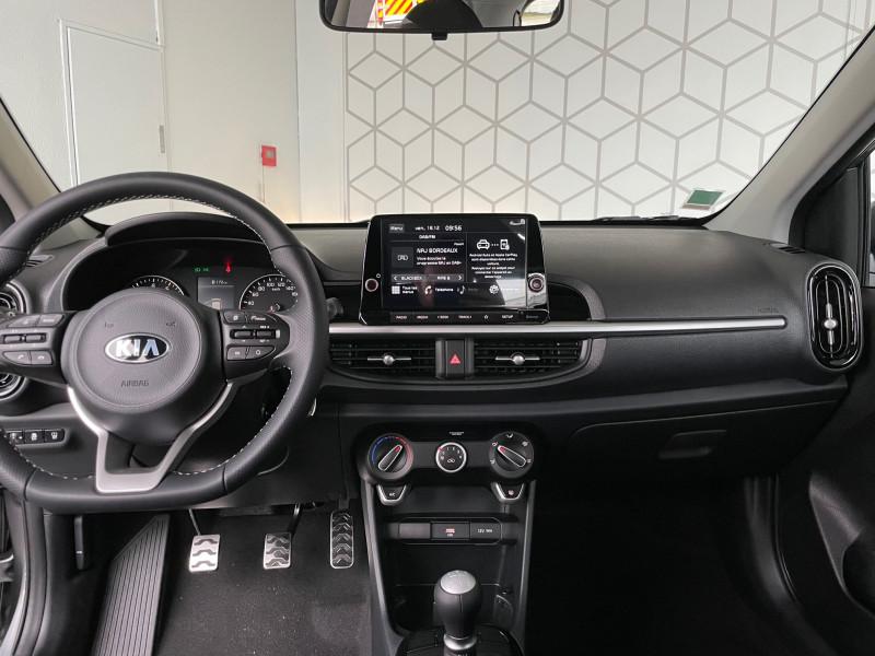 Kia Picanto 1.0 DPi 67ch GT Line Gris occasion à Bruges - photo n°4