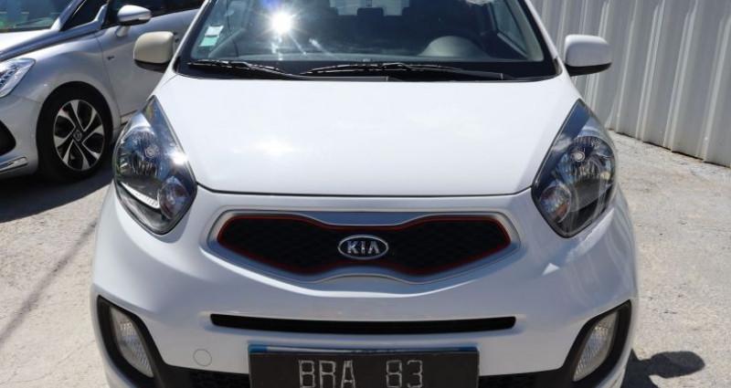 Kia Picanto 1.0 STYLE 3P Blanc occasion à Le Muy - photo n°2