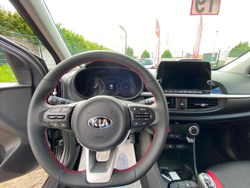 Kia Picanto 1.0 T-GDi 100ch GT Line ISG Euro6d-T  occasion à Garges-lès-Gonesse - photo n°3