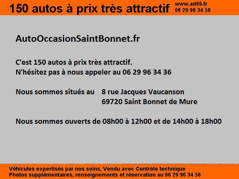 Kia Picanto 1.1 DIESEL 5P Rouge occasion à Saint-Bonnet-de-Mure - photo n°2