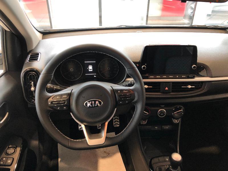 Kia Picanto 1.2 DPi 84ch GT Line Blanc occasion à Amilly - photo n°10