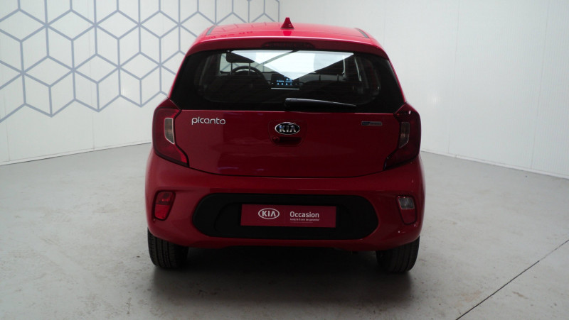 Kia Picanto Picanto 1.0 essence MPi 67 ch ISG BVM5 Urban Edition 5p Rouge occasion à Cahors - photo n°5