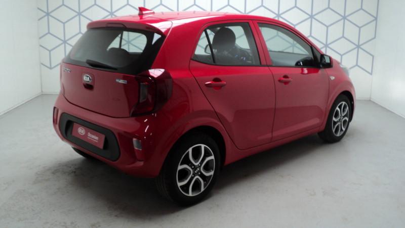 Kia Picanto Picanto 1.0 essence MPi 67 ch ISG BVM5 Urban Edition 5p Rouge occasion à Cahors - photo n°4