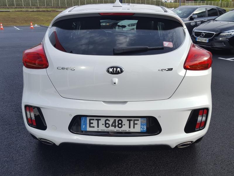 Kia Pro-cee'd 1.0 T-GDi 120ch ISG GT Line Blanc occasion à Quimper