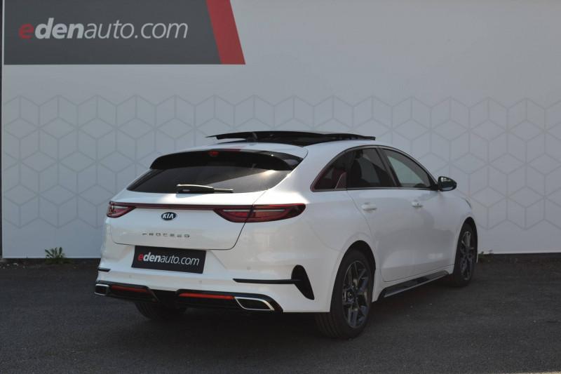 Kia Pro-cee'd PROCEED 1.5 T-GDi 160 ch ISG DCT7 GT Line Premium 5p Blanc occasion à Toulenne - photo n°2