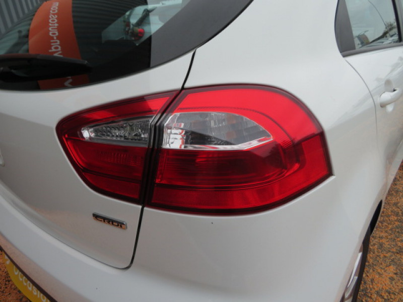 Kia Rio 1.4 CRDI 90CH ORIGINS 5P Blanc occasion à Lormont - photo n°4