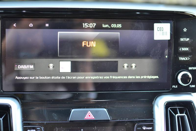 Kia Sorento Sorento 1.6 T-GDi 180 ch ISG/Electrique 7 pl 91 ch BVA6 Desi Noir occasion à Toulenne - photo n°18