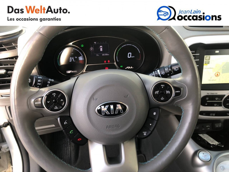 Kia Soul Soul EV Electrique 110 ch Ultimate 5p Blanc occasion à Meythet - photo n°12