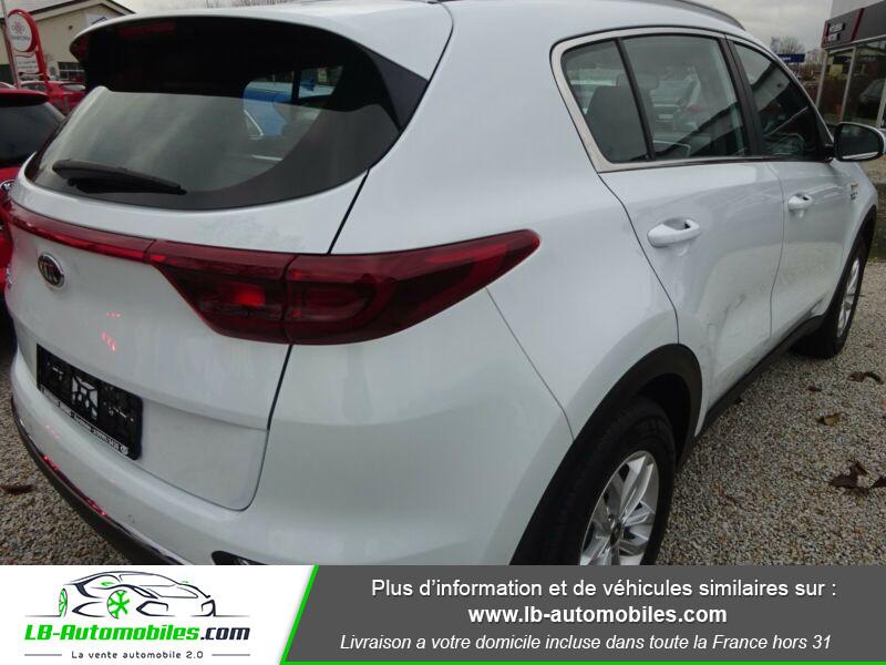 Kia Sportage 1.6 CRDi 115 4x2 Blanc occasion à Beaupuy - photo n°3