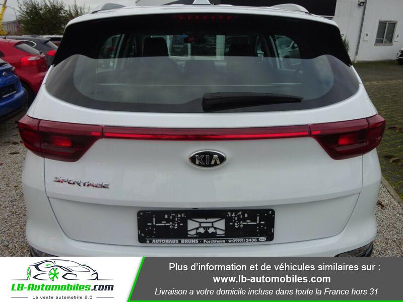 Kia Sportage 1.6 CRDi 115 4x2 Blanc occasion à Beaupuy - photo n°9