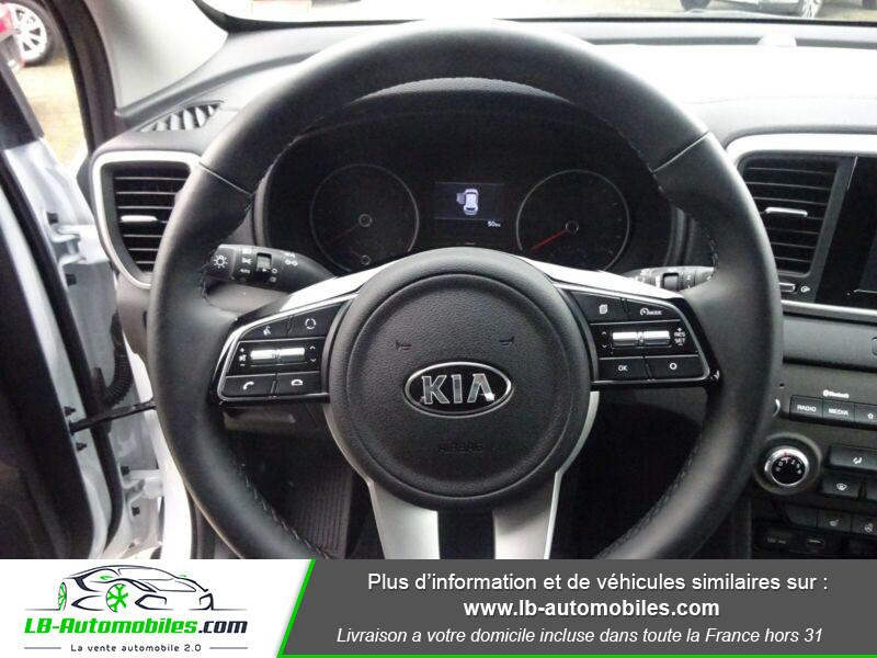 Kia Sportage 1.6 CRDi 115 4x2 Blanc occasion à Beaupuy - photo n°6