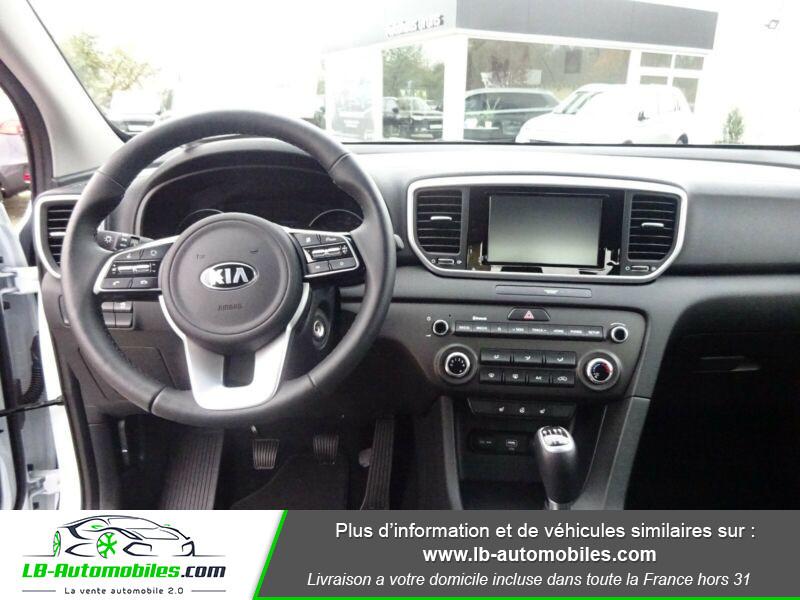 Kia Sportage 1.6 CRDi 115 4x2 Blanc occasion à Beaupuy - photo n°2