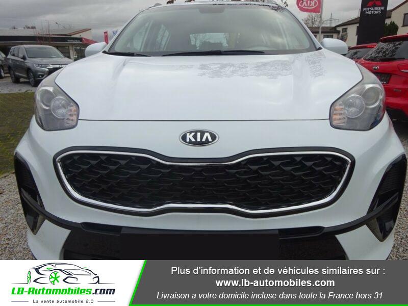 Kia Sportage 1.6 CRDi 115 4x2 Blanc occasion à Beaupuy - photo n°8